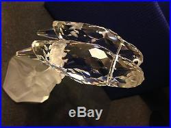 1987 Swarovski Crystal Lovebirds Togetherness No Origanal Box