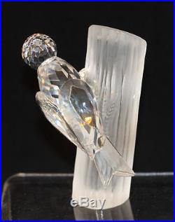 1988 Swarovski Crystal Second Annual SCS Woodpeckers Sharing DO1X881 014 745