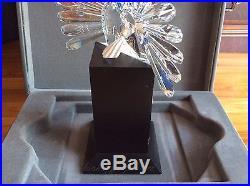 1998 Swarovski Crystal Limited Edition Peacock #2885 of 10,000 #7607 002/218123