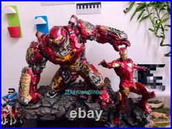 1/4 Scale Hulkbuster MK44 Statue Resin Figurine Painted Led Light Pre-order Hot