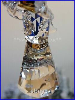 2007 Mib Swarovski Crystal Annual Angel Christmas Ornament #904989