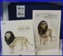 2016 Swarovski Crystal Lion Akili Annual Ed 9100 000 566 / 5 135 894 Colored