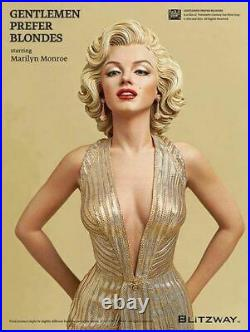 40cm 1/4 Scale Blondes Marilyn Monroe sexy Action figure Anime Doll PVC