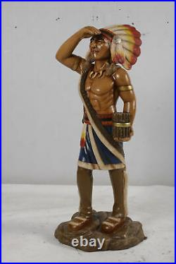 48 Tobacco Cigar Store Indian Native American Statue Collectible