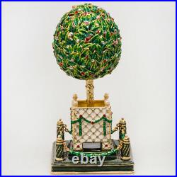 5 Faberge Egg. Bay Tree Musical Egg Plays Swan Lake. Made in Russia