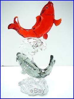 Admirable Fish Tutelary Spirit Crystal Line 2013 Swarovski #5004638