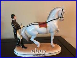 Am Langen Zugel, Augarten Porcelain Vienna Spanish Horse Riding School