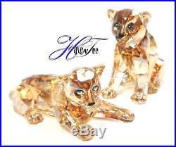 Amur Leopard Cubs Scs 2019 Swarovski Crystal 5428542