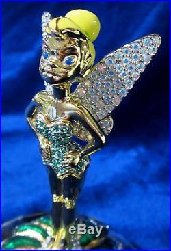 Arribas Collection #6401 Jeweled Tinkerbell Bnib Fairy Ltd Ed Disney Free Ship