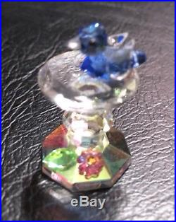 Austrian Crystal Figurines Lot Of 6 Very Colorful & Sparkly