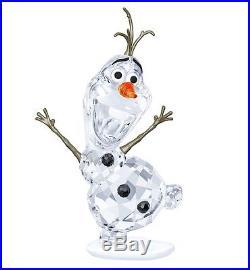 Authentic 2016 Swarovski Crystal Disney Frozen Olaf Figurine 5135880