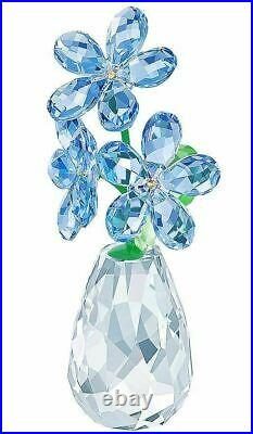 Authentic New in Box Swarovski Flower Dreams Forget Me Not Blue#5254325