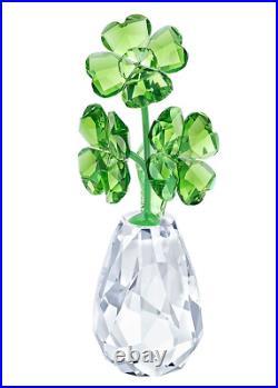 Authentic New in Box Swarovski Flower Dreams Four-leaf clovers #5415274