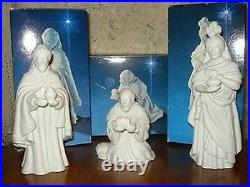 Avon Nativity Collectibles porcelain figure set 21pc wFlying Angel reduced