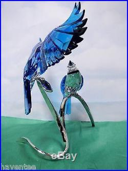 Blue Jays 2013 Swarovski Crystal Birds On Branch #1176149