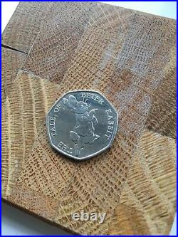 Beatrix Potter 2017 Tale of Peter Rabbit 50p coin RARE collection-circulated