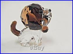 Bernie The Saint Bernard Puppy Dog Lovlots 2016 Swarovski Crystal #5213704
