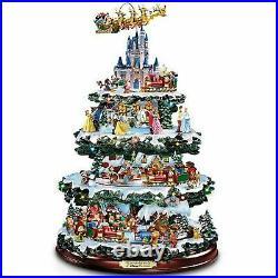 Bradford Exchange Disney Tabletop Christmas Tree The Wonderful World of Disney