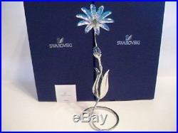 Brand New SWAROVSKI CRYSTALPARADISE DELLARIA AQUAMARINE EXOTIC FLOWER 5155677