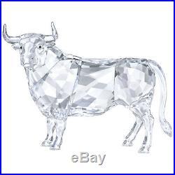 Bull Clear Crystal Figurine 2018 Swarovski Crystal 5365721