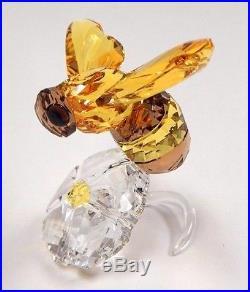 Bumblebee Scs Event Piece Bee On Flower 2017 Swarovski Crystal #5244639