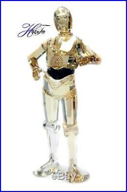 C-3po Robot Star Wars Disney Character 2019 Edition Swarovski Crystal 5473052