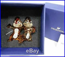Disney Chip n Dale, Crystal Swarovski Authentic MIB 5302334