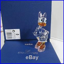 Disney Daisy Duck Swarovski Crystal Figurine Authentic MIB 5115334