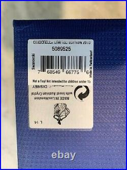 Disney Swarovski CINDERELLA 2015 Crystal Figurine Rare Retired 5089525 with Box