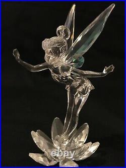 Disney Swarovski Tinker Bell Crystal Figurine Limited Edition 2008 Peter Pan
