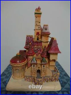 Disney Tradition Beauty and the Beast Castle Jim Shore Enesco Christmas ornament