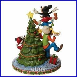 Disney Traditions Fab 5 Decorating Tree Figurine by Jim Shore 6008979