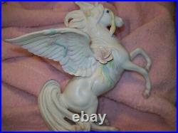 ENESCO Porcelain fantasy Wing Horse Unicorn santiago Statue Figurine PEGASUS