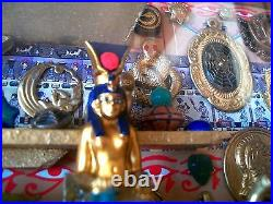 Egyptian Shadowbox Diorama Collectibles The Winged Scarab Museum Handmade