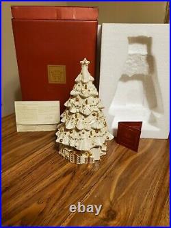 Exquisite LENOX CHINA TWAS THE NIGHT Musical Christmas Tree (Retired)