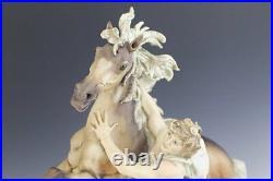 Giuseppe Armani Figurine Freedom Man and Horse LTD 3000
