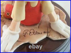 Giuseppe Armani Walt Disney Pinocchio and Figaro Figure 0464C Box Hand Signed