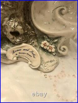 Giuseppe Armani figurine 1454L Romeo and Juliet With Original Box