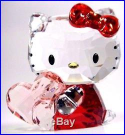 Hello Kitty Pink Heart Sanrio Crystal 2016 Swarovski #5135886