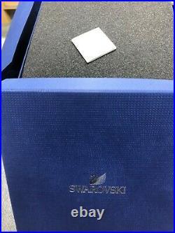 JET BLACK SWAN SWAROVSKI SOULMATES Crystal MIB Box & COA 1098643