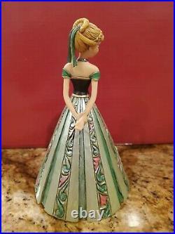 JIM SHORE DISNEY TRADITIONS FROZEN ANNA IN CASTLE DRESS 4048661 VERY RARE no box