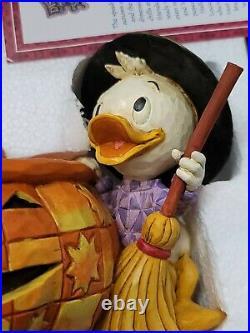Jim Shore Disney Traditions Playing Tricks & Sharing Treats Candy Bowl 4005630