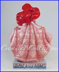 Jim Shore Disney Twilight Serenade Little Mermaid Ariel and Prince Eric Dress &