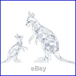 Kangaroo Mother With Baby Clear Set 2019 Swarovski Crystal 5428563