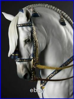 LLADRO Porcelain SPANISH PURE BREED HORSE 01002007 Sculpture