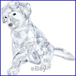 Labrador Mother Clear Crystal Puppy Dog 2018 Swarovski 5399004