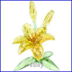 Lily Yellow Colorful Flower 2018 Swarovski Crystal 5371641