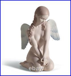 Lladro Beautiful Angel Figurine #18235 Brand Nib Matte Woman Nude Save$$ F/sh