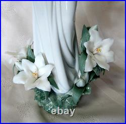 Lladro Madonna Of The Flowers #8322 Brand Nib Blessed Mother Baby Jesus Save$ Fs