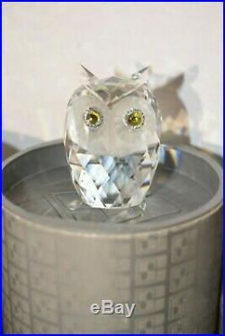 Lot 12 Swarovski Silver Crystal Figurines in Boxes Dog Owl Bear Elephant Rabbit